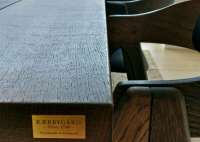 4 planke indoor indendoers mette spisebordsstol 1