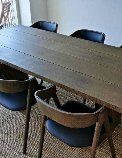 4 planke indoor indendoers mette spisebordsstol 2