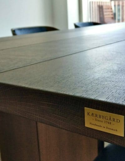 4 planke indoor indendoers mette spisebordsstol 3