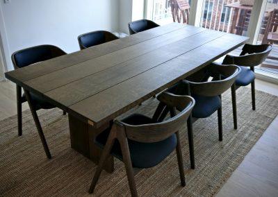 4 planke indoor indendoers mette spisebordsstol 4 1