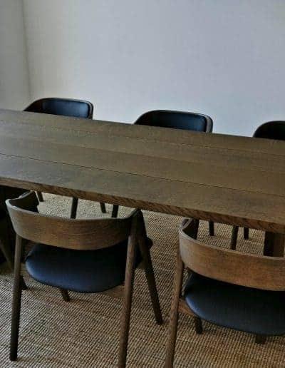 4 planke indoor indendoers mette spisebordsstol 5