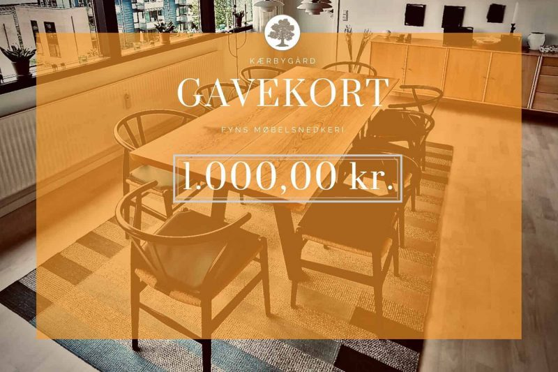GAVEKORT 1000KR