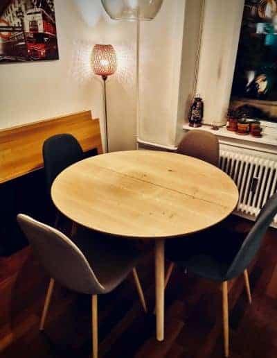 Rundt bord rundbord  10 udtraek udtræk