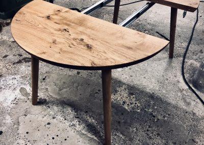 Rundt bord rundbord  1 udtraek udtræk