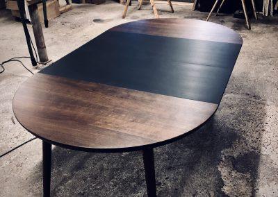 Rundt bord rundbord  2 1 udtraek udtræk