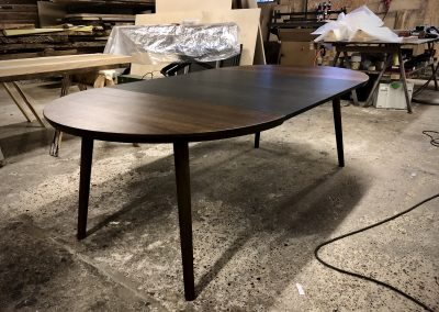 Rundt bord rundbord  3 1 udtraek udtræk