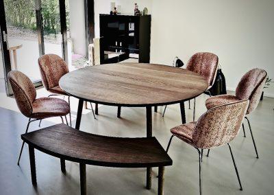Rundt bord rundbord 4 Kærbygaard kaerbygaard rundt runde borde 2020