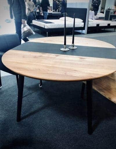 Rundt bord rundbord  5 1 udtraek udtræk