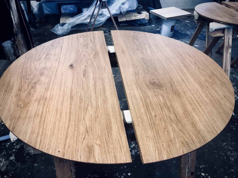 Rundt bord rundbord  8 udtraek udtræk