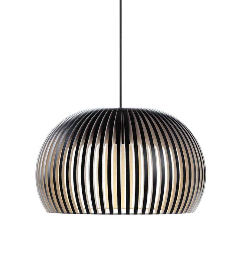 Secto Design Atto 5000 pendant lamp color black