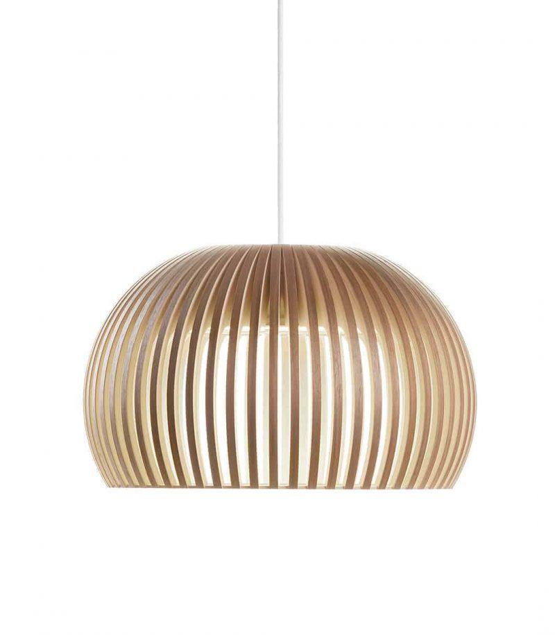 Secto Design Atto 5000 pendant lamp color walnut