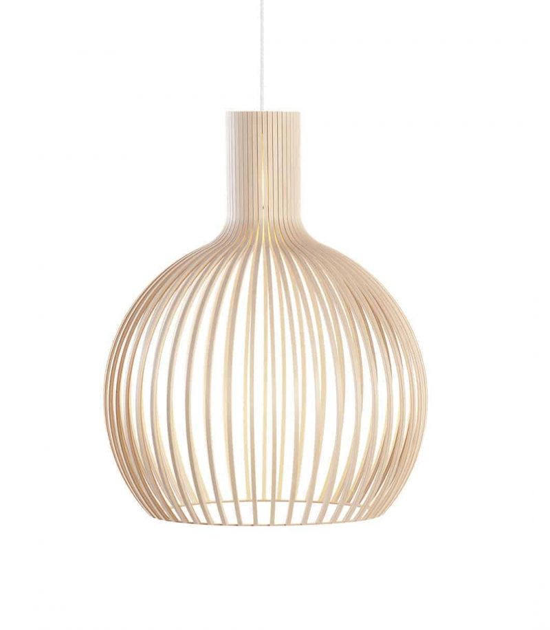 Secto Design Octo 4240 pendant lamp color birch