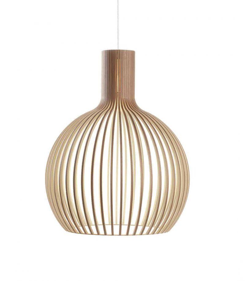 Secto Design Octo 4240 pendant lamp color walnut