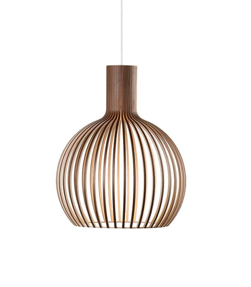 Secto Design Octo Small 4241 pendant lamp color walnut