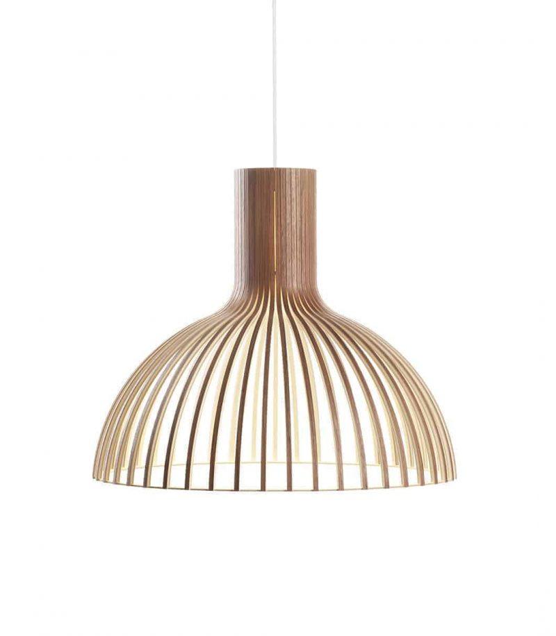 Secto Design Victo 4250 pendant lamp color walnut