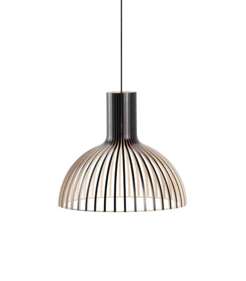 Secto Design Victo Small 4251 pendant lamp color black