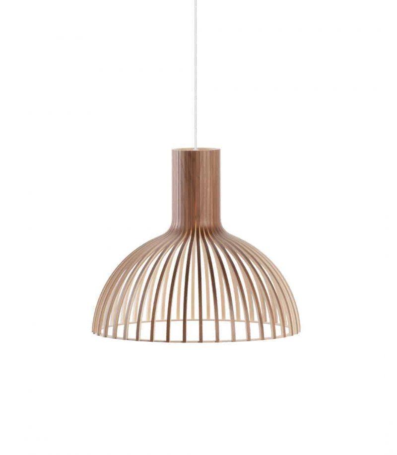 Secto Design Victo Small 4251 pendant lamp color walnut