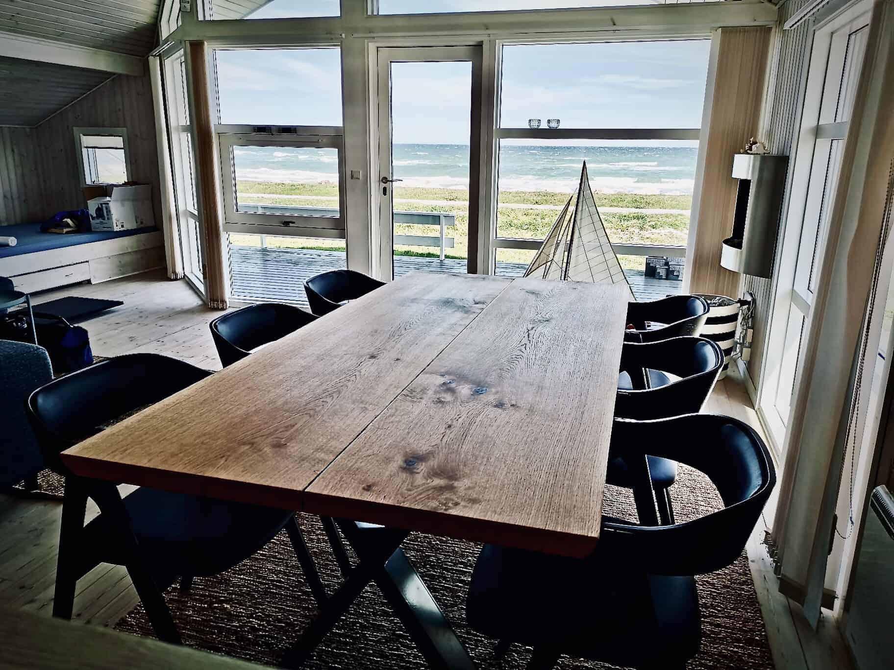 Snedkerbord Mette spisebordsstol Kaerbygård plankeborde mm faerdige 34
