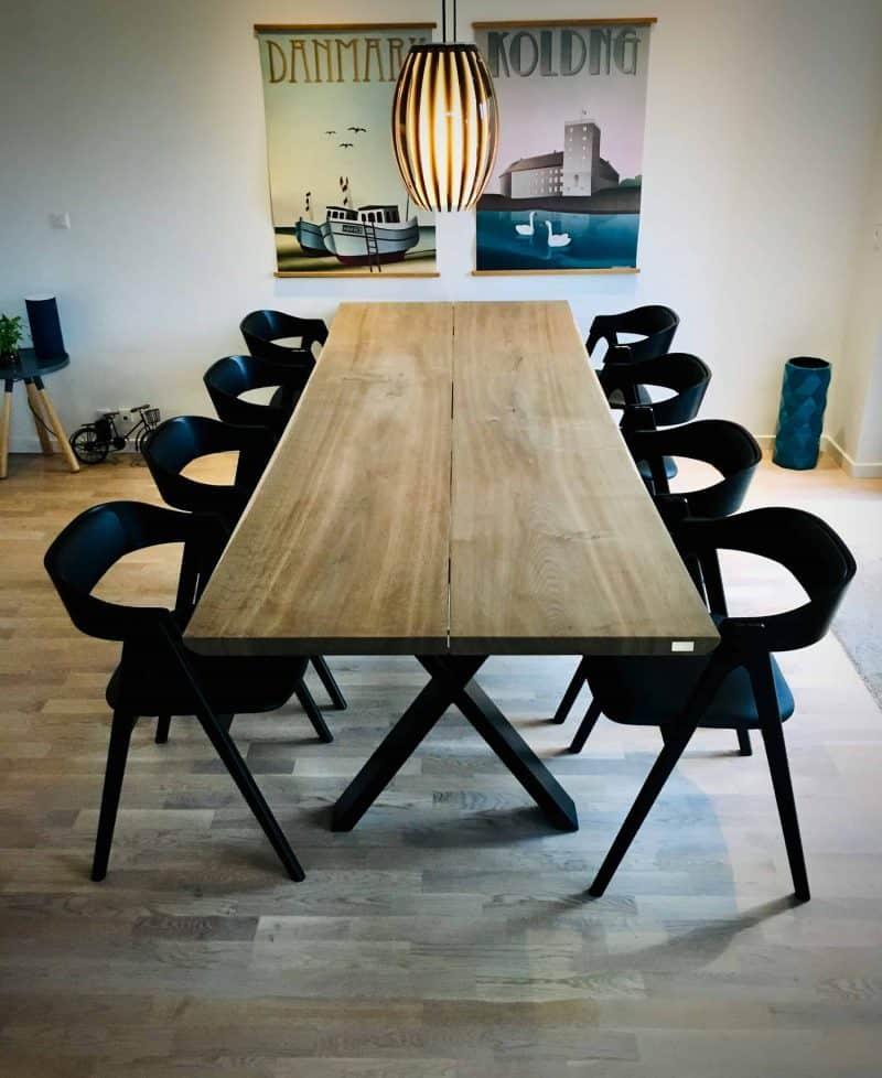 plankeborde mm færdige 10 scaled - kaerbygaard plankebord KÆRBYGÅRD 2020 snedkeri - træbord_ Egetræ - valnød elmetræ