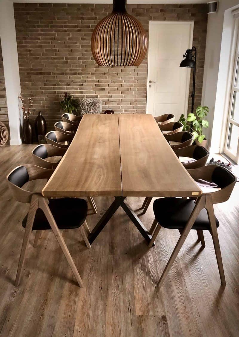 plankeborde mm færdige 22 scaled - kaerbygaard plankebord KÆRBYGÅRD 2020 snedkeri - træbord_ Egetræ - valnød elmetræ